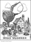 Cartoonist Matt Wuerker  Matt Wuerker's Editorial Cartoons 2004-06-18 ball