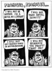 Cartoonist Matt Wuerker  Matt Wuerker's Editorial Cartoons 2004-10-22 2004 election