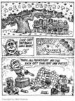 Cartoonist Matt Wuerker  Matt Wuerker's Editorial Cartoons 2005-02-04 whack