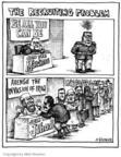 Cartoonist Matt Wuerker  Matt Wuerker's Editorial Cartoons 2005-07-26 join