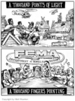 Cartoonist Matt Wuerker  Matt Wuerker's Editorial Cartoons 2005-09-28 hurricane