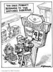 Cartoonist Matt Wuerker  Matt Wuerker's Editorial Cartoons 2005-10-07 hurricane