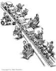 Cartoonist Matt Wuerker  Matt Wuerker's Editorial Cartoons 2006-01-10 cost