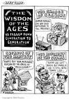 Cartoonist Matt Wuerker  Matt Wuerker's Editorial Cartoons 2002-03-11 summer