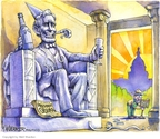Cartoonist Matt Wuerker  Matt Wuerker's Editorial Cartoons 2008-11-05 2008 election