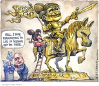 Cartoonist Matt Wuerker  Matt Wuerker's Editorial Cartoons 2008-11-07 John McCain