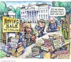 Cartoonist Matt Wuerker  Matt Wuerker's Editorial Cartoons 2008-11-10 $.50