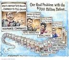 Cartoonist Matt Wuerker  Matt Wuerker's Editorial Cartoons 2008-11-19 billion
