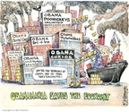 Cartoonist Matt Wuerker  Matt Wuerker's Editorial Cartoons 2009-01-26 collectible