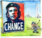 Cartoonist Matt Wuerker  Matt Wuerker's Editorial Cartoons 2009-02-19 2008 election