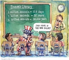 Cartoonist Matt Wuerker  Matt Wuerker's Editorial Cartoons 2009-03-24 teacher
