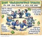 Cartoonist Matt Wuerker  Matt Wuerker's Editorial Cartoons 2009-03-25 billion