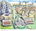 Cartoonist Matt Wuerker  Matt Wuerker's Editorial Cartoons 2009-04-07 landscape