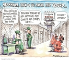 Cartoonist Matt Wuerker  Matt Wuerker's Editorial Cartoons 2009-05-12 ground