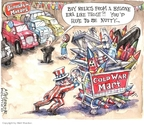 Cartoonist Matt Wuerker  Matt Wuerker's Editorial Cartoons 2009-05-11 Cold War