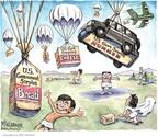 Cartoonist Matt Wuerker  Matt Wuerker's Editorial Cartoons 2009-06-03 cheese