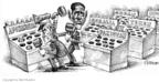 Cartoonist Matt Wuerker  Matt Wuerker's Editorial Cartoons 2009-10-14 whack