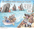 Matt Wuerker  Matt Wuerker's Editorial Cartoons 2009-10-19 ship