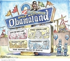 Cartoonist Matt Wuerker  Matt Wuerker's Editorial Cartoons 2009-12-03 park
