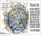 Cartoonist Matt Wuerker  Matt Wuerker's Editorial Cartoons 2009-12-08 climate change