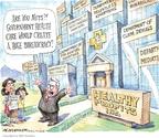 Cartoonist Matt Wuerker  Matt Wuerker's Editorial Cartoons 2010-02-25 advertising
