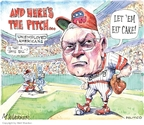 Cartoonist Matt Wuerker  Matt Wuerker's Editorial Cartoons 2010-03-03 baseball game