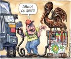 Cartoonist Matt Wuerker  Matt Wuerker's Editorial Cartoons 2010-06-14 animal welfare