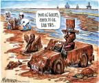 Cartoonist Matt Wuerker  Matt Wuerker's Editorial Cartoons 2010-06-28 animal welfare