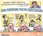 Cartoonist Matt Wuerker  Matt Wuerker's Editorial Cartoons 2010-07-01 Jeff Sessions