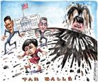 Cartoonist Matt Wuerker  Matt Wuerker's Editorial Cartoons 2010-07-14 ball