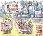 Cartoonist Matt Wuerker  Matt Wuerker's Editorial Cartoons 2010-07-27 big brother