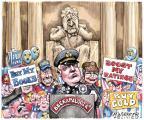 Cartoonist Matt Wuerker  Matt Wuerker's Editorial Cartoons 2010-08-26 Fox News