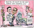 Cartoonist Matt Wuerker  Matt Wuerker's Editorial Cartoons 2011-01-18 health care repeal
