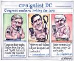 Cartoonist Matt Wuerker  Matt Wuerker's Editorial Cartoons 2011-02-14 pork-barrel