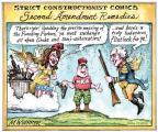 Cartoonist Matt Wuerker  Matt Wuerker's Editorial Cartoons 2011-02-17 gun control