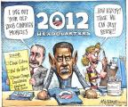 Cartoonist Matt Wuerker  Matt Wuerker's Editorial Cartoons 2011-04-07 Obama climate change