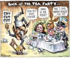 Cartoonist Matt Wuerker  Matt Wuerker's Editorial Cartoons 2011-07-29 2012 election economy