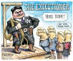 Matt Wuerker  Matt Wuerker's Editorial Cartoons 2011-09-16 capital punishment