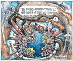 Cartoonist Matt Wuerker  Matt Wuerker's Editorial Cartoons 2011-12-16 climate