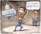 Cartoonist Matt Wuerker  Matt Wuerker's Editorial Cartoons 2012-01-24 baseball bat