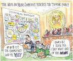 Cartoonist Matt Wuerker  Matt Wuerker's Editorial Cartoons 2012-02-24 Bush tax cut