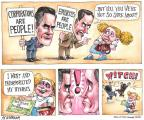 Cartoonist Matt Wuerker  Matt Wuerker's Editorial Cartoons 2012-03-01 2012 primary
