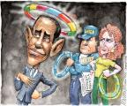 Cartoonist Matt Wuerker  Matt Wuerker's Editorial Cartoons 2012-05-18 Obama climate change