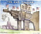 Cartoonist Matt Wuerker  Matt Wuerker's Editorial Cartoons 2012-07-30 machine gun