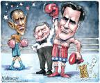 Cartoonist Matt Wuerker  Matt Wuerker's Editorial Cartoons 2012-10-07 2012 debate