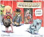 Cartoonist Matt Wuerker  Matt Wuerker's Editorial Cartoons 2012-11-20 cat