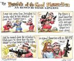 Cartoonist Matt Wuerker  Matt Wuerker's Editorial Cartoons 2013-02-08 gun