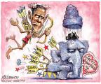 Cartoonist Matt Wuerker  Matt Wuerker's Editorial Cartoons 2013-02-14 Obama climate change