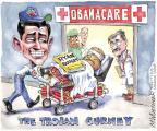 Cartoonist Matt Wuerker  Matt Wuerker's Editorial Cartoons 2013-03-15 health care repeal
