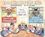 Cartoonist Matt Wuerker  Matt Wuerker's Editorial Cartoons 2013-06-13 big brother